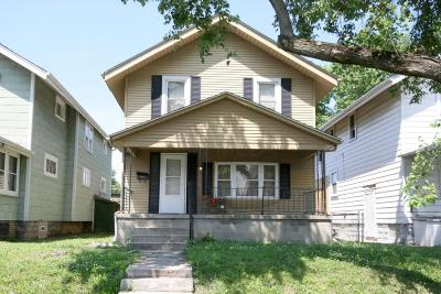 Columbus Single Family Home For Sale: 1275 Oakwood Avenue