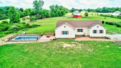 Franklin County, Delaware County, Fairfield County, Hocking County, Licking County, Madison County, Morrow County, Perry County, Pickaway County, Union County Single Family Home For Sale: 7374 N State Route 61