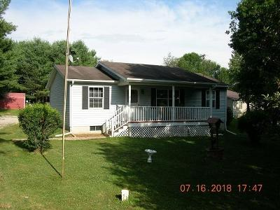 Rushville Single Family Home Contingent Finance And Inspect: 1170 Old Rushville Road NE