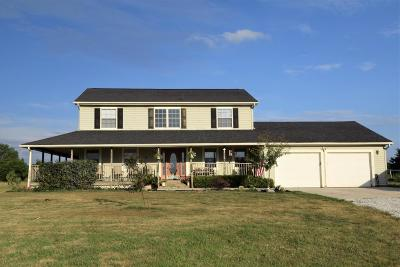 Perry County Single Family Home For Sale: 5316 Buckeye Valley Rd.