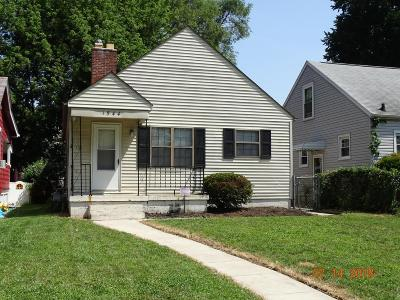 Columbus Single Family Home For Sale: 1544 Aberdeen Avenue