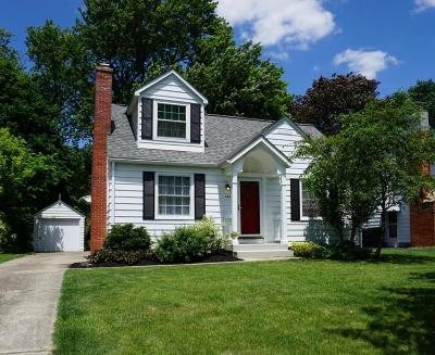 Clintonville Single Family Home Contingent Finance And Inspect: 256 E Beaumont Road