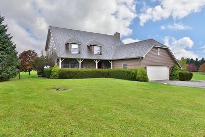 Delaware Single Family Home For Sale: 1100 Hills Miller Road