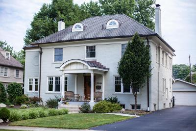 Upper Arlington Single Family Home Contingent Finance And Inspect: 1960 Chelsea Road