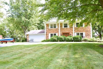 New Albany Single Family Home Contingent Finance And Inspect: 6853 Cedar Brook Place