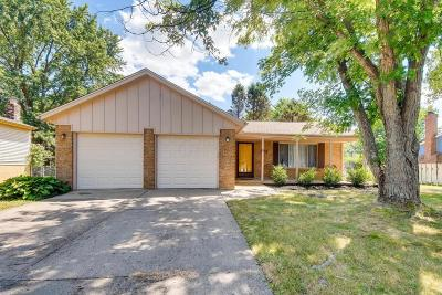 Pickerington Single Family Home Contingent Finance And Inspect: 393 Seven Pines Drive