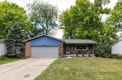 Worthington Single Family Home Contingent Finance And Inspect: 6833 Worthington Galena Road