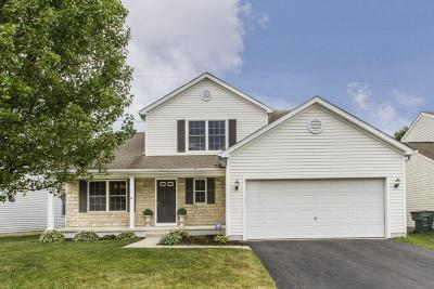 Lewis Center Single Family Home Sold: 8593 Smokey Hollow Drive