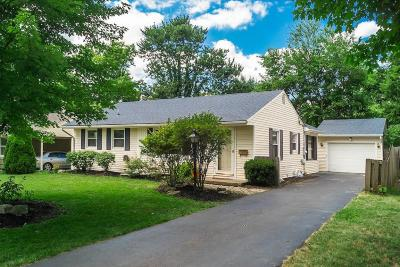 Upper Arlington Single Family Home Contingent Finance And Inspect: 2258 Cranford Road