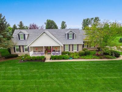 Hilliard Single Family Home For Sale: 3375 Walker Road