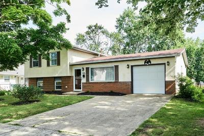 Gahanna Single Family Home Contingent Finance And Inspect: 474 Denwood Drive N