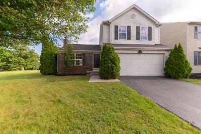 Blacklick Single Family Home For Sale: 7714 Solomen Run Drive
