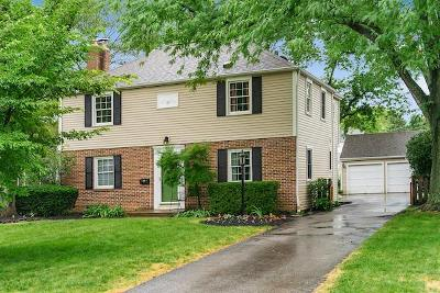 Upper Arlington Single Family Home Contingent Finance And Inspect: 1939 Wyandotte Road