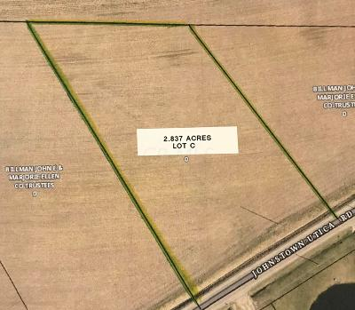 Johnstown Residential Lots & Land For Sale: 9032 Crouse-Willison Road