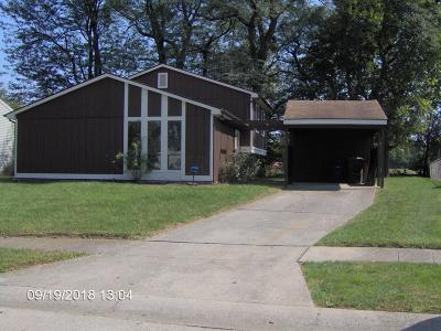 Grove City Single Family Home For Sale: 2110 Opal Lane