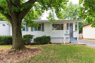 Columbus Single Family Home For Sale: 3338 Meridian Road