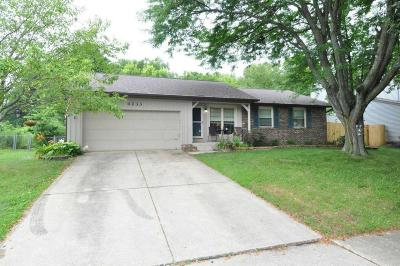 Single Family Home For Sale: 4233 Kelnor Drive