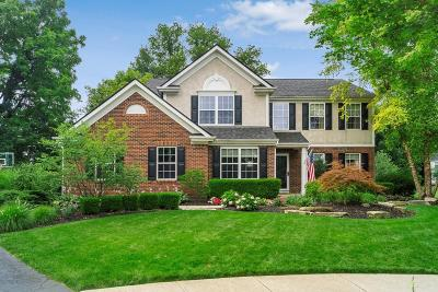 Dublin Single Family Home Contingent Finance And Inspect: 6510 Walden Court