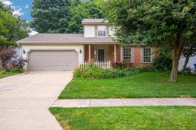 Pickerington Single Family Home Contingent Finance And Inspect: 7808 Cedar Ridge Drive