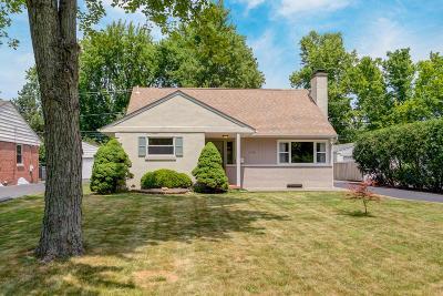 Upper Arlington Single Family Home For Sale: 1948 Zollinger Road
