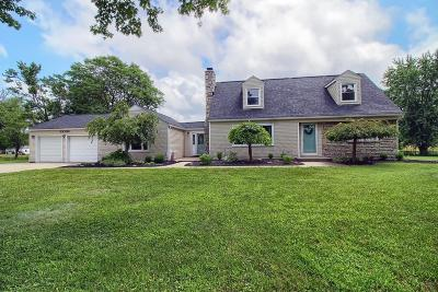 Blacklick Single Family Home For Sale: 3700 N Waggoner Road