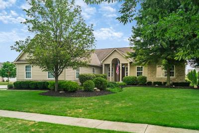 Hilliard Single Family Home Contingent Finance And Inspect: 4318 Kristy Court