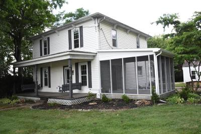 Johnstown Single Family Home Contingent Finance And Inspect: 390 W Coshocton Street