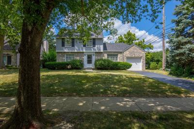 Upper Arlington Single Family Home Contingent Finance And Inspect: 1496 Guilford Road