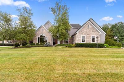Westerville Single Family Home For Sale: 5820 Medallion Drive W