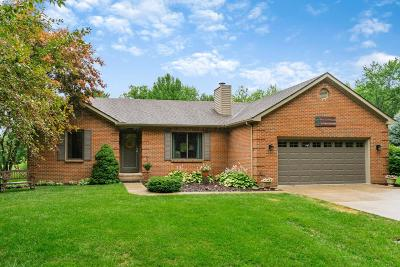 Hilliard Single Family Home Contingent Finance And Inspect: 3384 Walker Road