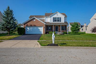 Lewis Center Single Family Home Contingent Finance And Inspect: 1562 Boxwood Drive