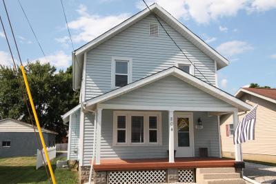 Baltimore Single Family Home Contingent Finance And Inspect: 804 W Market Street