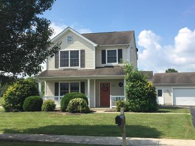 Hebron Single Family Home Contingent Finance And Inspect: 2222 Forest Ridge Drive