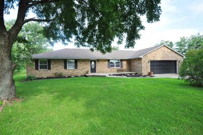 Grove City Single Family Home Contingent Finance And Inspect: 6464 Jackson Pike