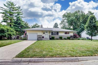 Hilliard Single Family Home Contingent Finance And Inspect: 3462 Kroehler Drive