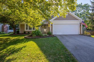 Hilliard Single Family Home Contingent Finance And Inspect: 2803 Carifa Drive