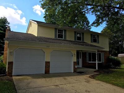 Pickerington Single Family Home Contingent Finance And Inspect: 349 Sheryl Drive