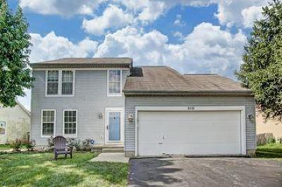 Pickerington Single Family Home Contingent Finance And Inspect: 515 Warwick Lane