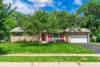 Upper Arlington Single Family Home Contingent Finance And Inspect: 3500 Redding Road