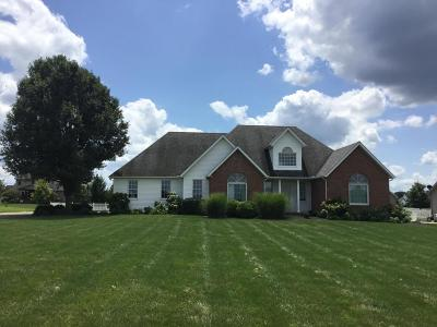 Ashville Single Family Home Contingent Finance And Inspect: 17480 Lockbourne Eastern Road