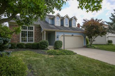 Hilliard Single Family Home Contingent Finance And Inspect: 5611 Whispering Oak Boulevard