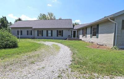 Galena Single Family Home Contingent Finance And Inspect: 6320 Jaycox Road