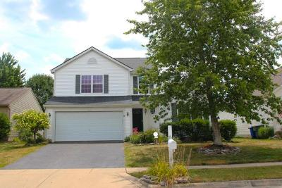 Canal Winchester Single Family Home Contingent Finance And Inspect: 7279 Emerald Tree Drive