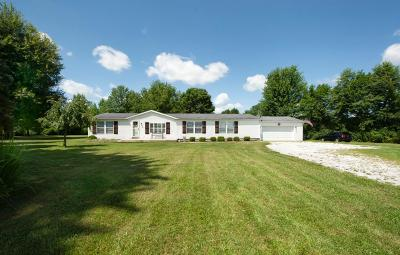 Etna Single Family Home Contingent Finance And Inspect: 10540 Smoke Road SW