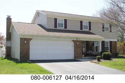 Westerville Single Family Home Contingent Finance And Inspect: 875 Prince William Lane
