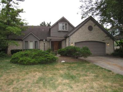 Hilliard Single Family Home For Sale: 3435 Scioto Run Boulevard