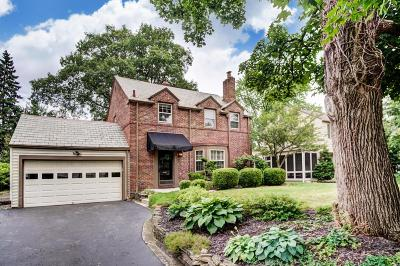 Upper Arlington Single Family Home Contingent Finance And Inspect: 2600 Coventry Road