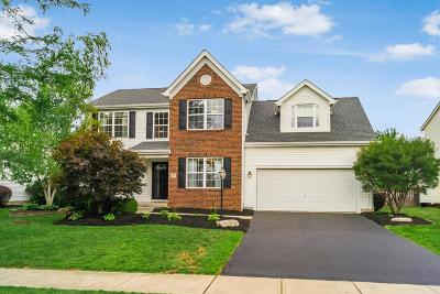 Hilliard Single Family Home Contingent Finance And Inspect: 2947 Bohlen Drive