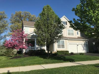 New Albany Single Family Home Contingent Finance And Inspect: 7345 Dean Farm Road