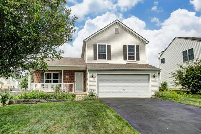 Reynoldsburg Single Family Home Contingent Finance And Inspect: 1424 Shelby Circle